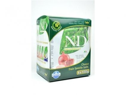 N&D Grain Free CAT MULTIPACK 4x100g