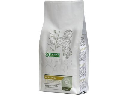 Nature's Protection Dog Dry Superior Adult White 1,5Kg