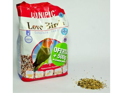 Cunipic Love Birds - Agapornis 650 g