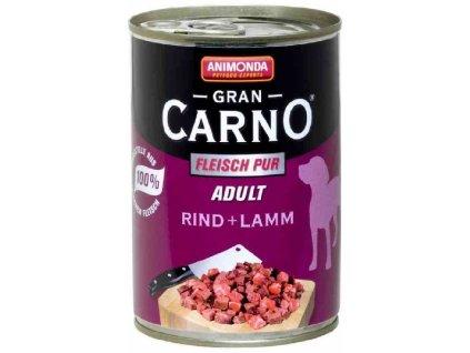 Animonda dog konzerva Gran Carno hovězí/jehně