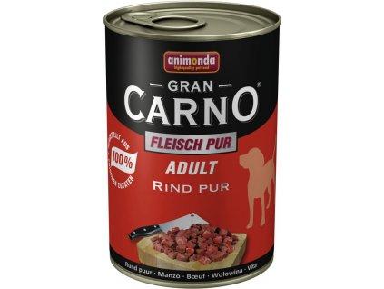 ANIMONDA dog konzerva Gran Carno čisté hovězí