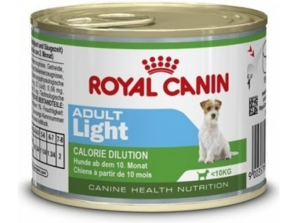 Royal Canin dog konzerva LIGHT ADULT 195g