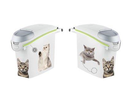 Kontejner na krmivo kočka 6kg