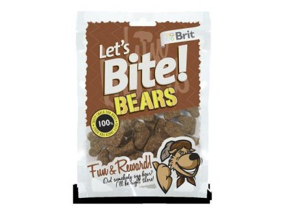 Brit Let´s Bite Bears NOVÝ 150 g