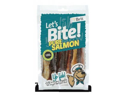 Brit Let´s Bite Pure Salmon NOVÝ 80 g
