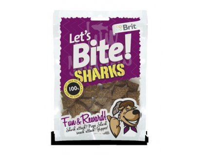 Brit Let´s Bite Sharks NOVÝ 150 g