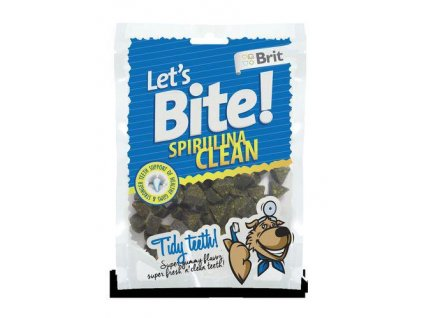 Brit Let´s Bite Spirulina Clean NOVÝ 150 g