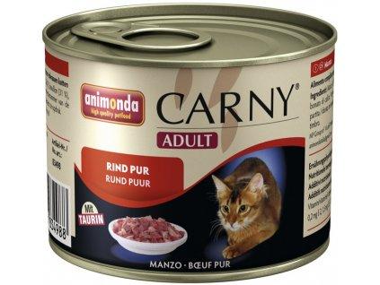 ANIMONDA cat konzerva CARNY čisté hovězí