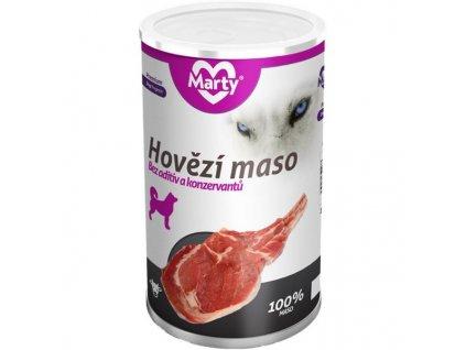 MARTY konz. pro psy - hovězí 1200 g