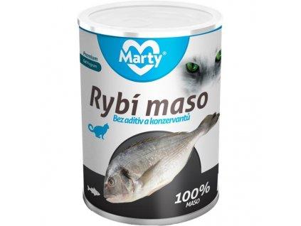 MARTY konz. pro kočky - ryba 400 g