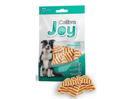 CALIBRA JOY DENTAL chicken waves 80 g