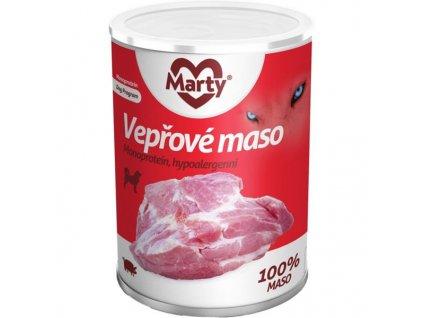 MARTY konz. pro psy - Monoprotein vepřové 400 g