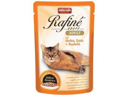 Animonda cat kapsa Rafiné kuře/kachna/nudle 100 g