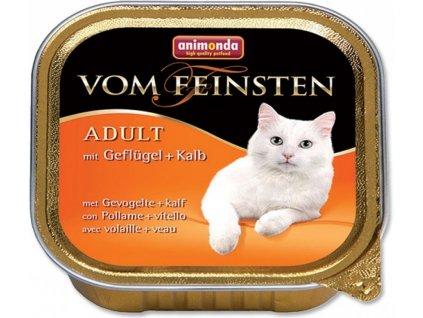 ANIMONDA cat paštika CLASSIC drůbeží/telecí 100 g