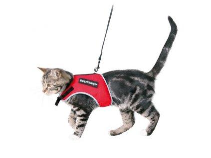 TRIXIE - Postroj  XCat vestička pro kočky 24-42cm/1,20m