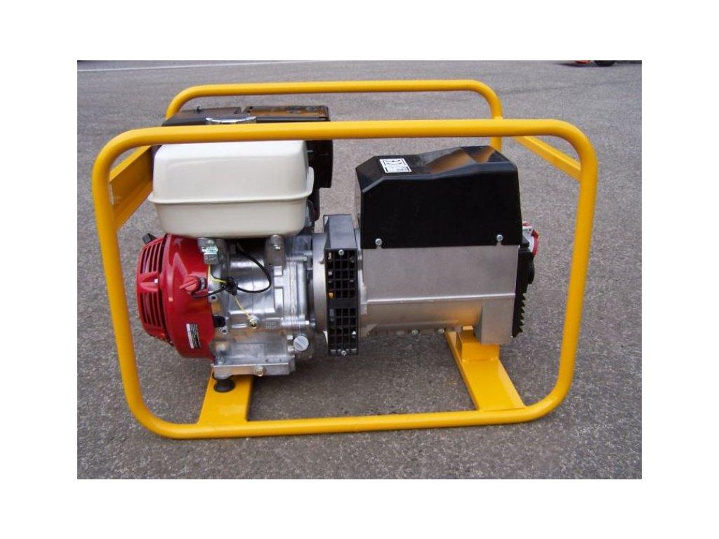 TRT-6,5 AVR Elektrocentrála třífázová 7/4 kVA 94/28A  - NTC