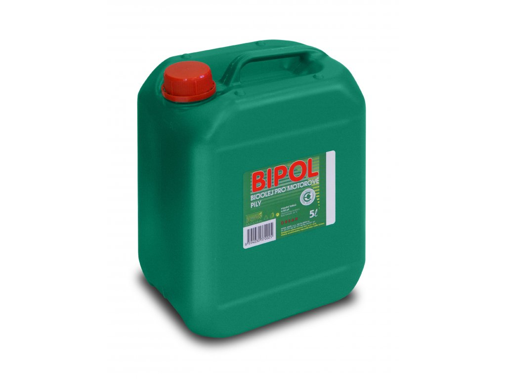 3250 bipol bio olej pro motorovou pilu na retez 5 l kanystr biona