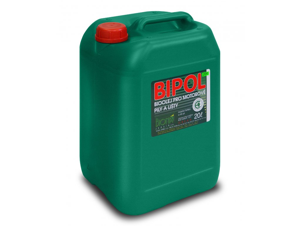 3838 bipol 200 bio olej pro harvestory na retez 20 l kanystr biona