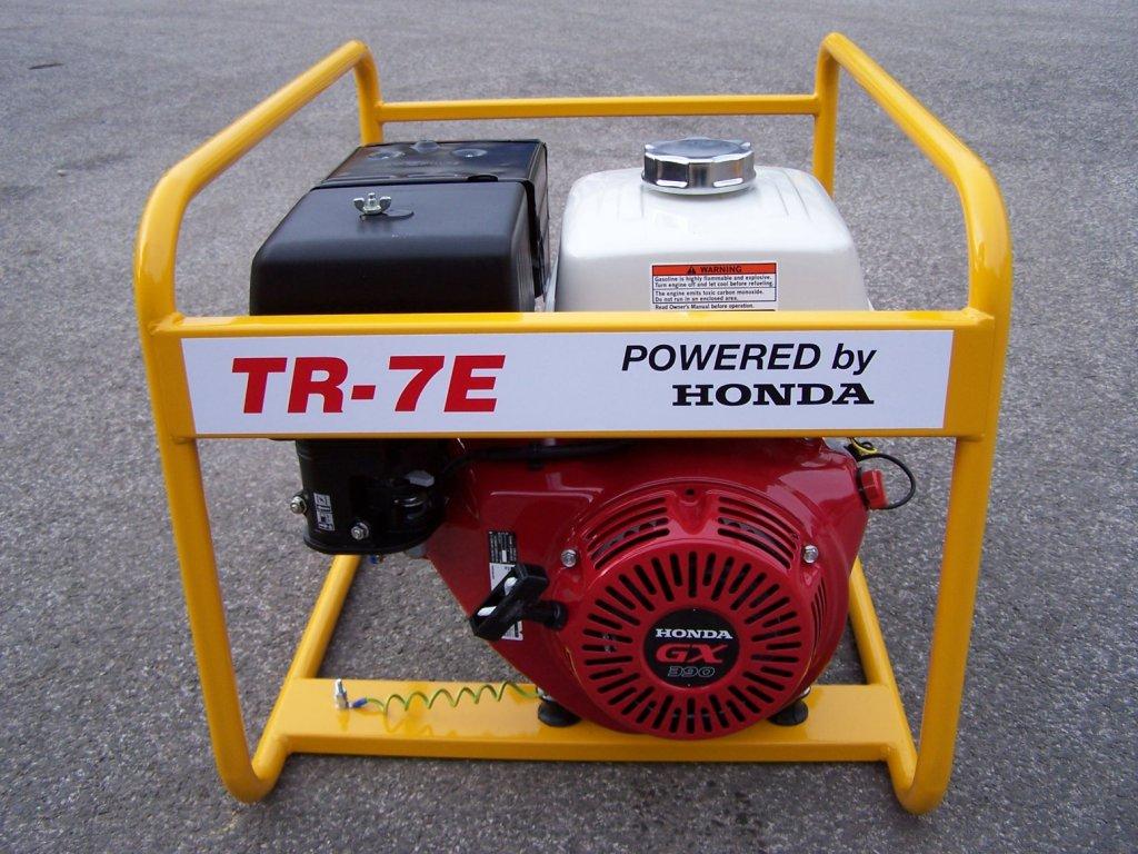 TR 7E D elektrocentrala jednofazova NTC