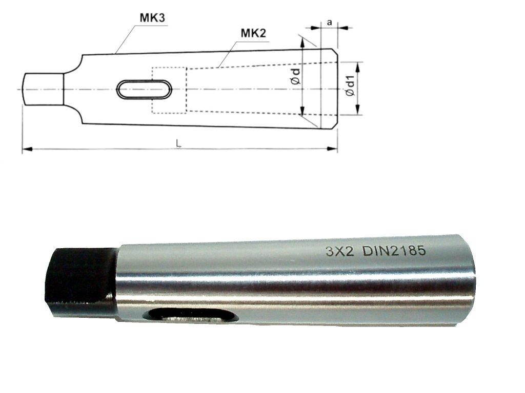 Redukcni pouzdro s unasecem MK3 MK2