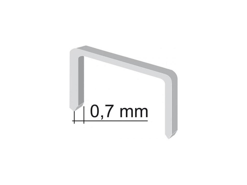 Sponky - 6 mm (1000ks)
