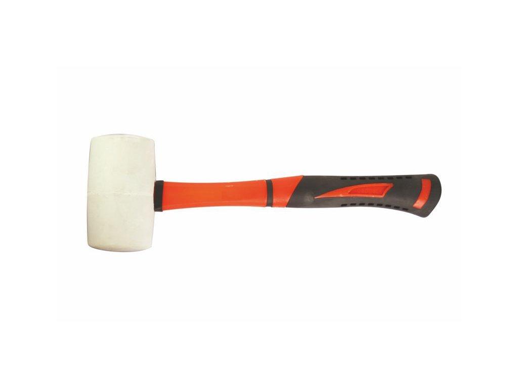 Gumová palice bílá 680g