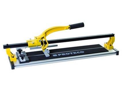 řezačka dlažby  600 mm  s vodící x-lištou a hliníkovým stolem 51.03-RDX-0600