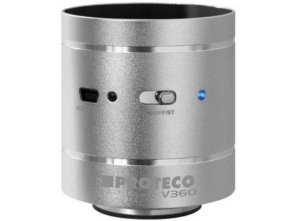 "reproduktor vibrační ""V360"" HiFi - stříbrný 99.SPEAKER-04"