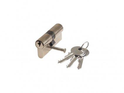 vložka stavební 30-35, 3 klíče + šroub nikl
