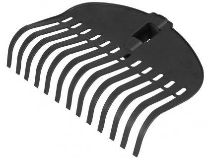 hrábě na listí plastové 13-zubé bez násady 10.85-1000-P13