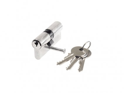 vložka stavební 30-35, 3 klíče + šroub matný chrom