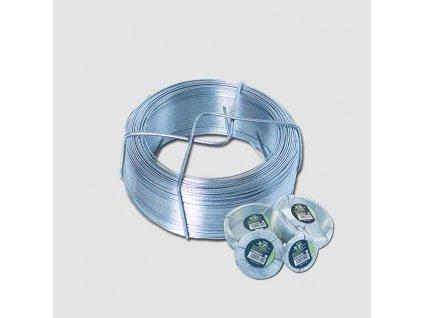 Napínací drát 2.0mmx50M POZINK 42220
