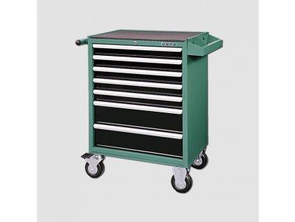 Montážní vozík na nářadí kovový vybavený 231dílů 677x459x1000mm HA250-104