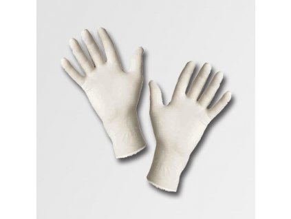 LOON rukavice JR latexové pudrované - L 1bal/100ks JA141111