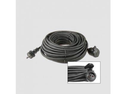 Prodluž. kabel guma 1 zás.230V/10m KL29210