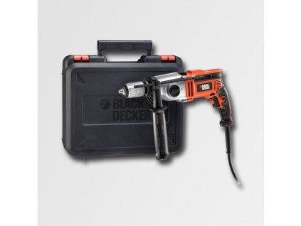 Elektrická příklepová vrtačka 750W 2 rychlosti,kufr KR7532K