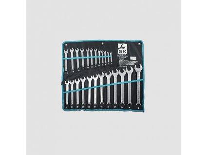 Sada klíčů o.p. 6-32 mm 24 dílů matný chrom-obal P16145/P