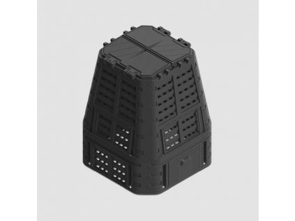 Kompostér černý MULTI 650L P90661