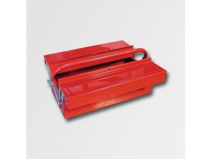 Kufr na nářadí kov 404x200x150mm 3 přihrádky TB125 PA78733