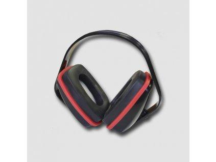 Červená sluchátka  PC0008