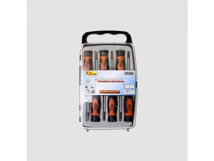 mini šroubováků 6 ks byt + ph Cr-Mo PC5366