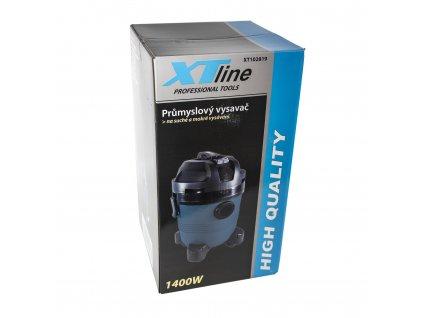 Průmyslový vysavač na suché a mokré vysávání s příslušenstvím 1400W XT102819