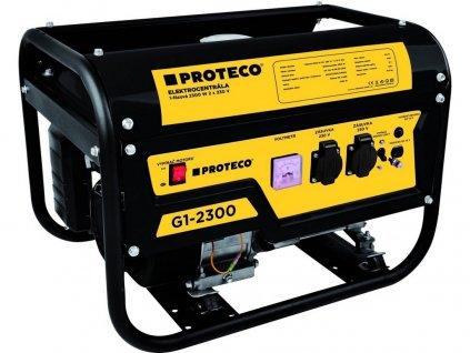 elektrocentrála 1-fázová 2300W (AC 2x230V, DC 1x12V) 51.08-G1-2300