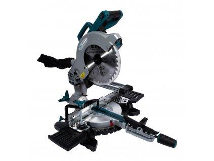 Elektrická pokosová pila s laserem 255mm , 2000W XT106255