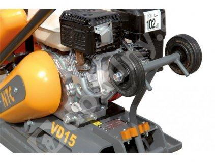 Podvozek pro vibrační desky VD 12P - NTC