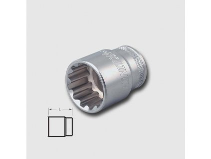 Hlavice 1/2'' 25mm Honidriver