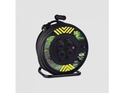 Prodlužovací kabel na bubnu 4zás. 230V/25m 2,5mm