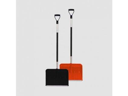 Shrnovač sněhu 550x385x1400mm ALPINUS ALUTUBE černá, oranžova