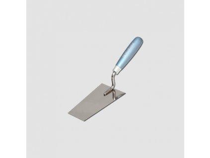 Lžíce štukatérská trapézová nerez 80x140x55mm, KUBALA
