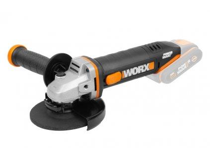 WX803.9 - Aku úhlová bruska 20V, 125mm - bez akumulátoru - Powershare